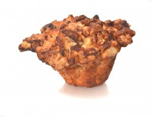 apple coffeecake muffin