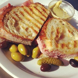 ham and gruyere